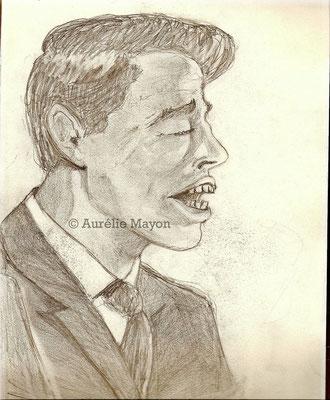 Jacques Brel - caricature