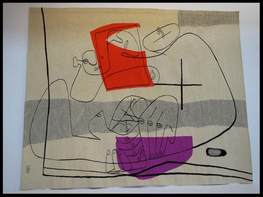 Les mains de Le Corbusier 1956