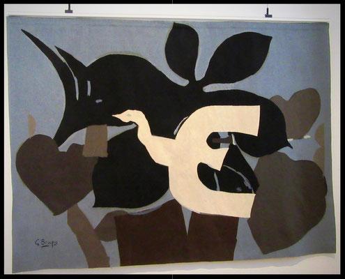 L'oiseau de Geroges Braque 1962