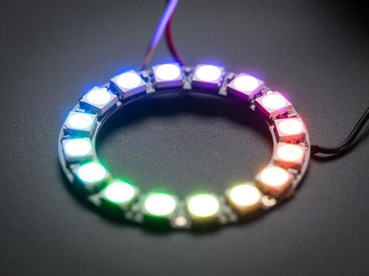 Led en anneau