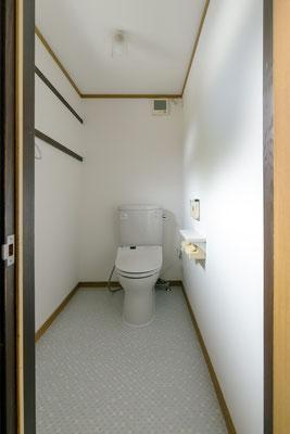トイレは爽やかに。