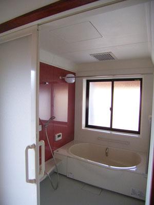 浴室はユニットで