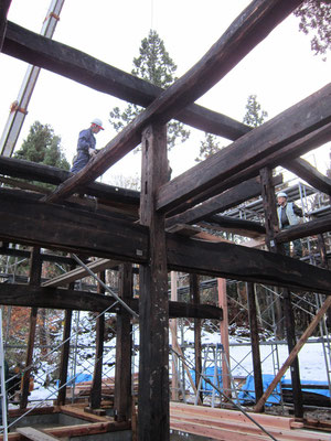【古民家移築までの過程】明治3年の建物がよみがえります