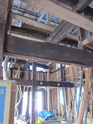 【古民家移築までの過程】古民家の平屋に2階を増築