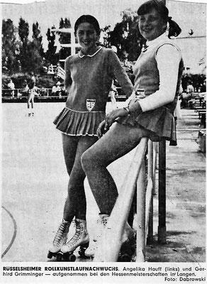 Angelika Hauff (links) und Gerhild Grimminger.