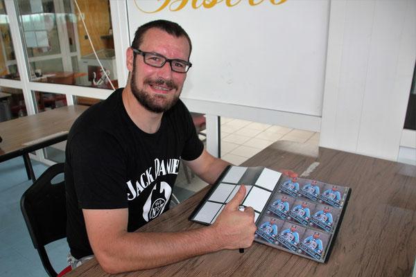 Lutz Teislers Autogrammstunde mit den Nordhessen Hornets