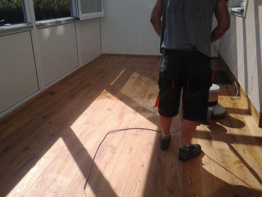 Bawart Massivparkett Landhausdiele Eiche 22 mm Erstpflege