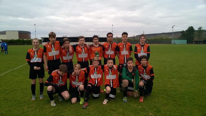 L'équipe B des U15