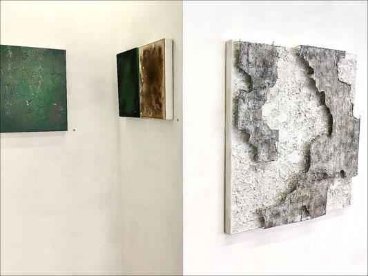 06_amb@s_Helmut Brandt & Brigitte Mekelburg mit Bildern & Objekten vom 18. bis 26. Juni 2021 im K49