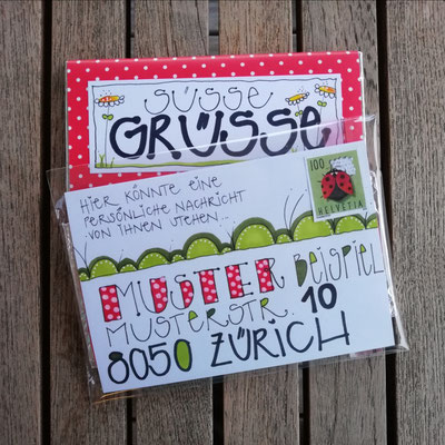 Süsse Grüsse personalisiert und versandbereit von Kronenreich