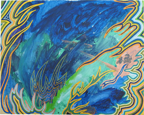Tiefblaue Wasserwelt