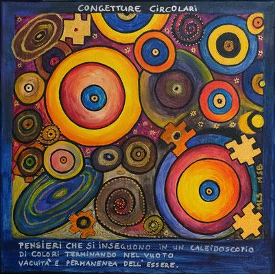 Congetture Circolari - Symbiosemalerei mit Marilena Streit-Bianchi