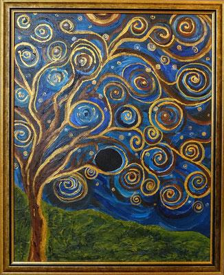 Black Hole in the Tree of Life - Symbiosemalerei mit Marilena Streit-Bianchi