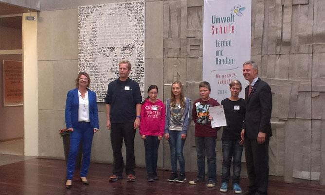 Ehrung mit dem Hessischen Umweltpreis 2016