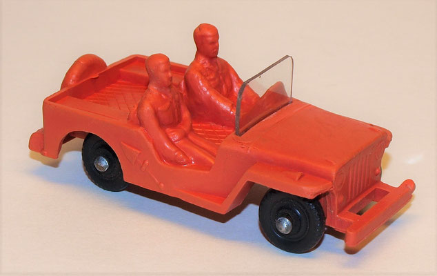 "Jeep ""Made in Hong Kong"", ca 9 cm."