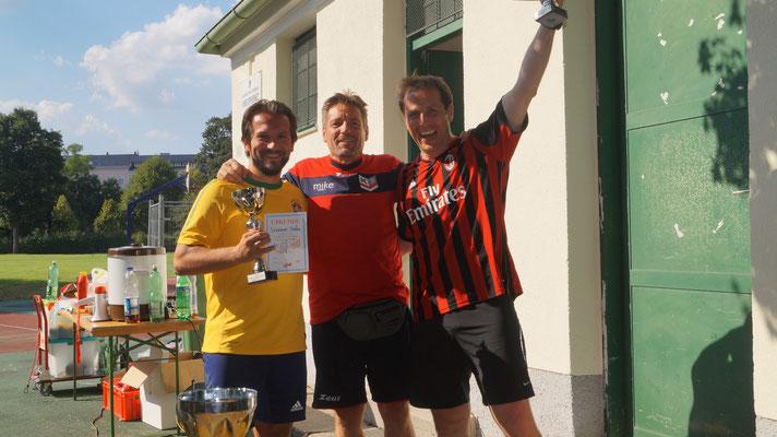 Die Sieger: Strasser Strefan und Strasser Martin!
