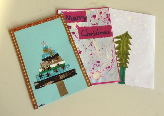 Nie verkehrt: Karten zur Weihnachtszeit