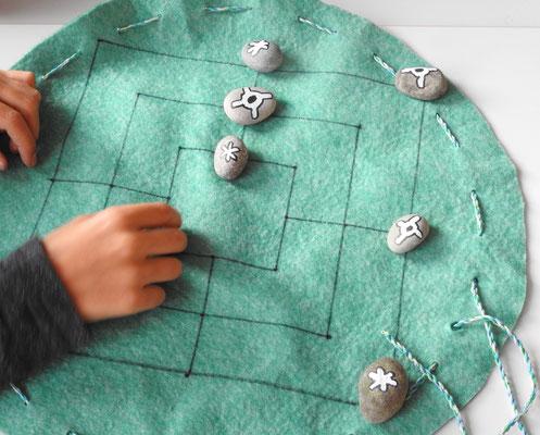 Dieses Spiel ist 2000 Jahre alt: Mühle