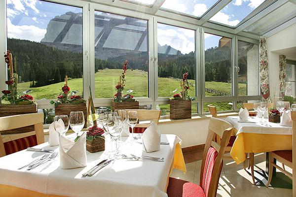 Restaurant im Hotel Plan De Gralba