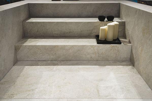 Rocks Silver White 30x120cm
