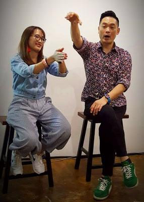 Teik Poi Metropoli Tan Coaching Singers in Malaysia