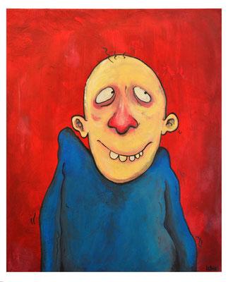 """""""Imbécile heureux""""  - Acrylique 60x50cm"""