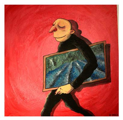 """""""Le gout"""" vendu - Acrylique 60x60cm"""