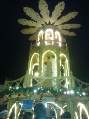 Die tolle Weihnachts-Glühwein-Pyramide vom Jedöhnsrat.