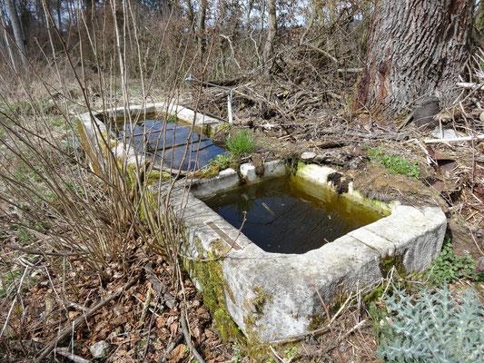 Grosser Brunnen mit zwei Trögen
