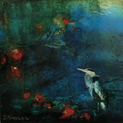 """""""The Heron""""  4x4  $35"""