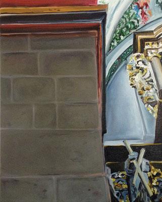 Abtei III  2013  80 x 100 cm  Öl/Leinwand
