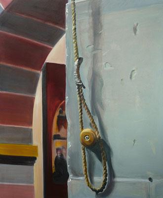 Abtei I  2013  110 x 120 cm  Öl/ Leinwand