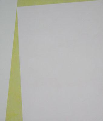 2 Flächen (Groß, rosa) 1 | 2013, Eitempera auf Baumwolle, 221 x 189 cm,