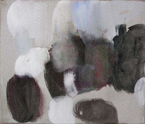 Studien zu Portrait G. 3 | 2009, Eitempera auf Leinwand, 47 x 55 cm