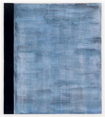 Tür und Angel | 1999, Eitempera und Tusche auf Baumwolle, 124 x 109 cm