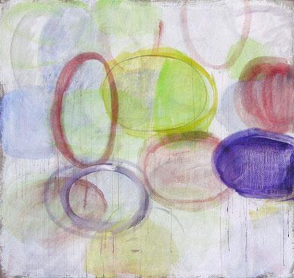 Winter | 2009/10, Eitempera, Pastell, Tusche auf Leinwand, 189 x 201 cm