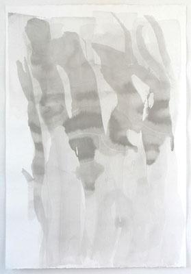 Japanische Landschaft | 2003, Tusche/Bütten, 112 x 77 cm