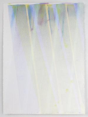 Krokus 2 | 2004, Eitempera/Bütten, 77 x 56 cm