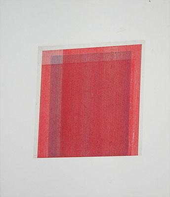 Raum//Bild Baryt(form) 1  | 2017,  Eitempera, Tusche auf MDF, 33 x 28 cm