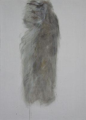 Maus Körper | 2018, Eitempera auf Leinwand, 110 x 79 cm