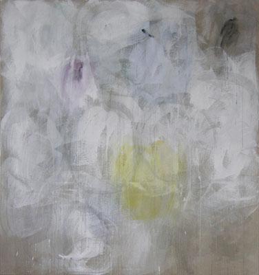 Winter | 2010, Eitempera, Tusche auf Leinwand, 252 x 236 cm