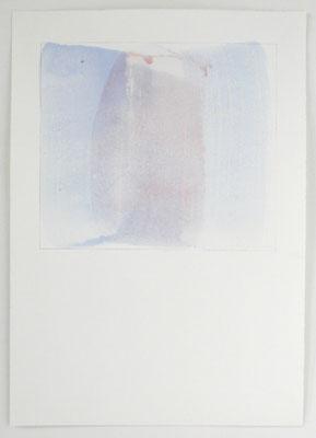 Japanische Vase | 2004, Eitempera/Bütten, 70 x 50 cm