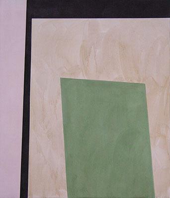 Human 1 (4 Flächen) | 2014, Eitempera auf Leinwand, 221 x 189 cm