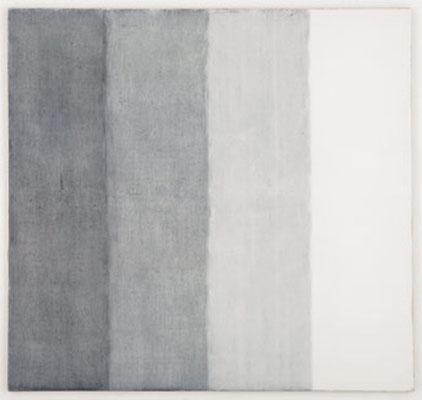 Vier Dinge über den Tod | 1999, Eitempera und Tusche auf Leinwand, 190 x 200 cm