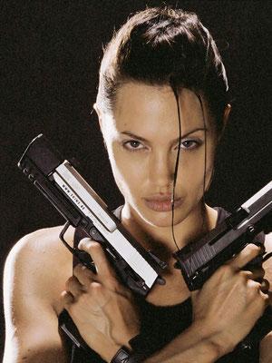 ... als Lara Croft (2001)