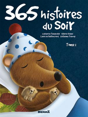 365 histoires du soir tome 1 aux éditions Hemma