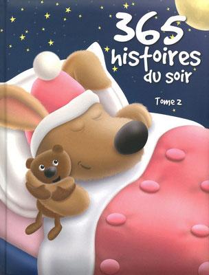 365 histoires du soir tome 2 aux éditions Hemma