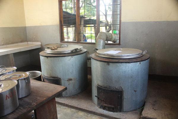 In der neuen Küche kann problemlos für 300 Personen gekocht werden.
