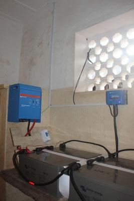 Die Solar-Batterien mit eigens kreierter Abkühlungstechnik