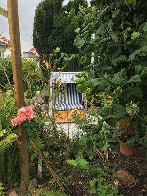 Tag der offenen Gärten im Rosendorf Wernborn 2019, Garten von Karin und Karl Zwermann